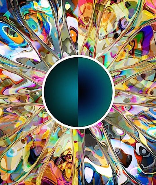 Sun Moon {Cosmos 67} SQ 1k