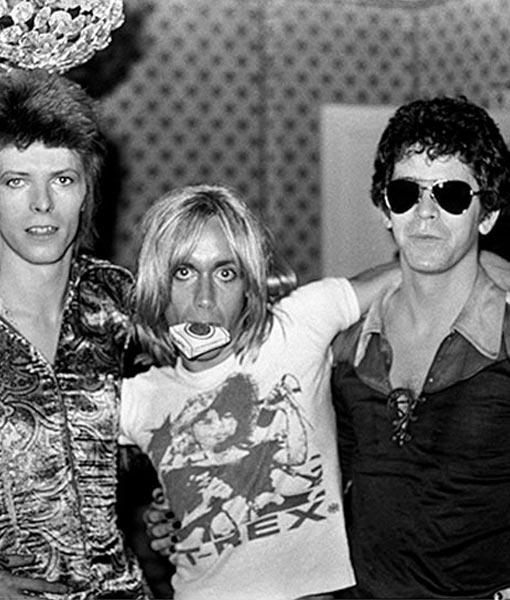 Bowie Iggy Lou Reed