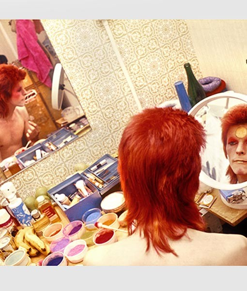 Bowie Make Up Circle Mirror