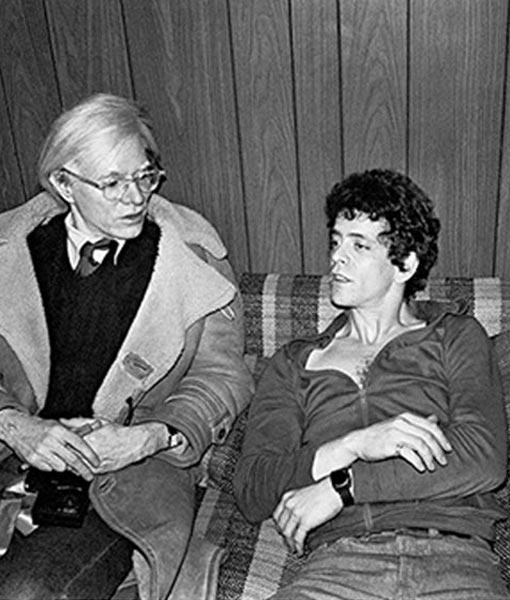 Lou Reed & Andy Warhol NYC 1976
