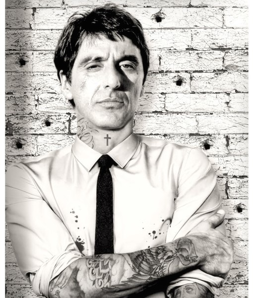 scarface al pacino tattoo jj adams website