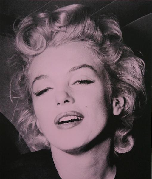 Marilyn Monroe-Pink-paper website david studwell
