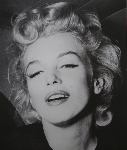 Marilyn Monroe-Silver-paper david studwell 510 x 600