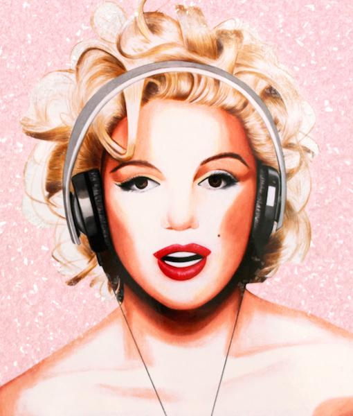 Marilyn Pink Diamond Dust copy