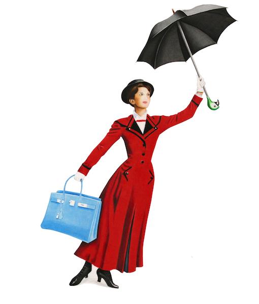 Poppins Birkin & LV luggage dayz website