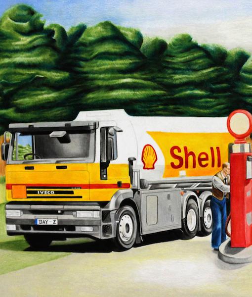 Shell Oil website dayz